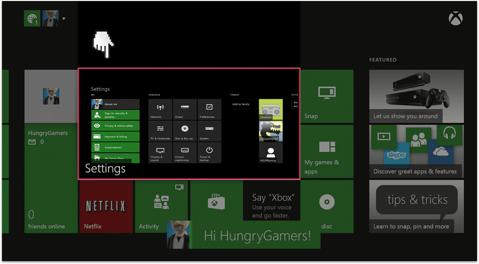 Xbox One Parental Controls