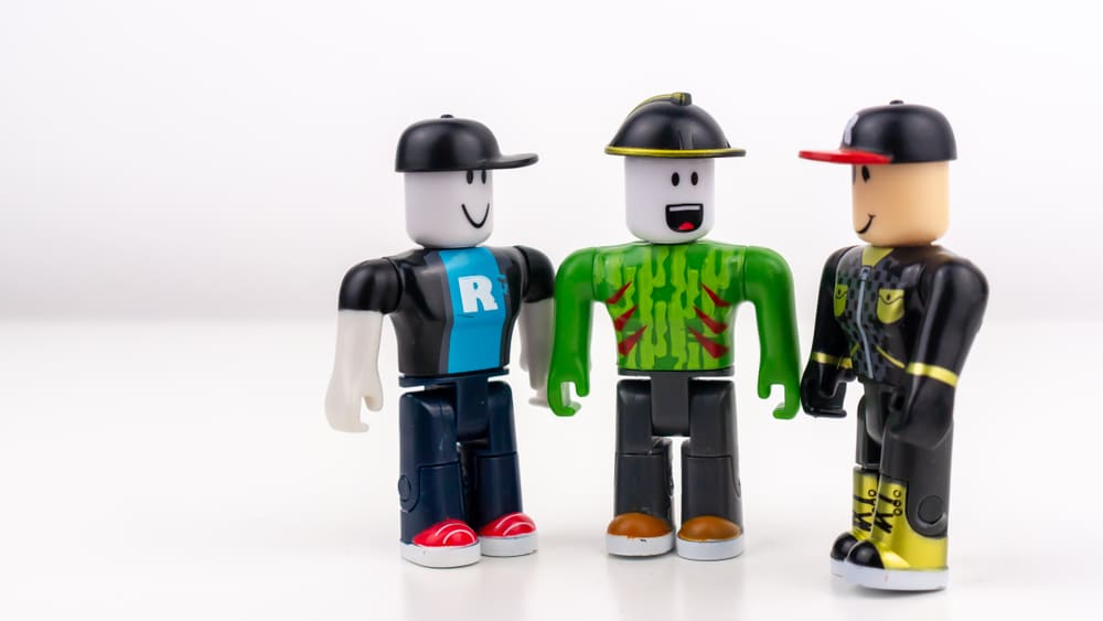 Characters from the Roblox gaming platform